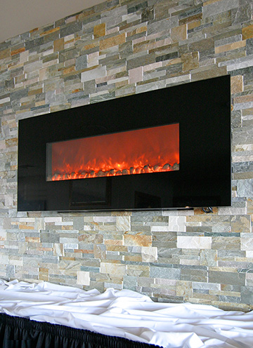 Electric Fireplaces Electric Fireplace Installation