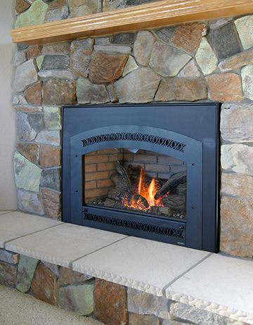 Gas Burning Fireplace Inserts Gas Fireplace Insert