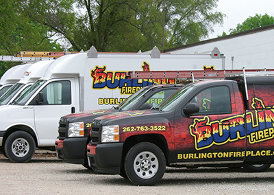 Our services trucks travel to Walworth WI