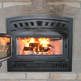 wood burning fireplaces at our Janesville WI area Hearth Store