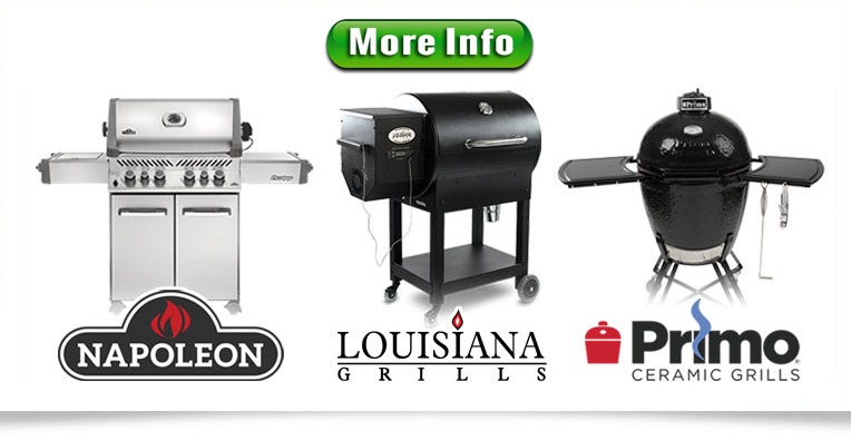 top brands of grills in Kenosha, Burlington, Lake Geneva area