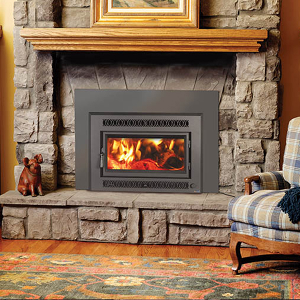 wood fireplace insert in Pleasant Prairie WI