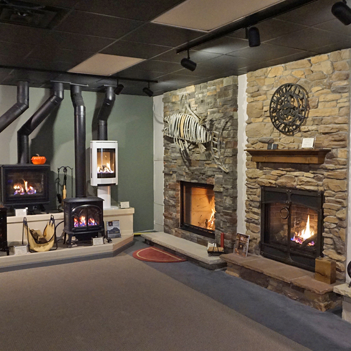 fireplace showroom in oconomowoc wi